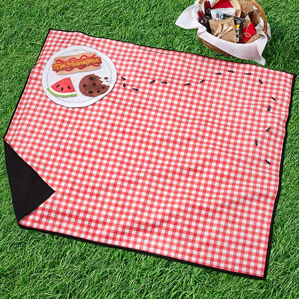 Personalized Picnic Blanket - Ant Attack
