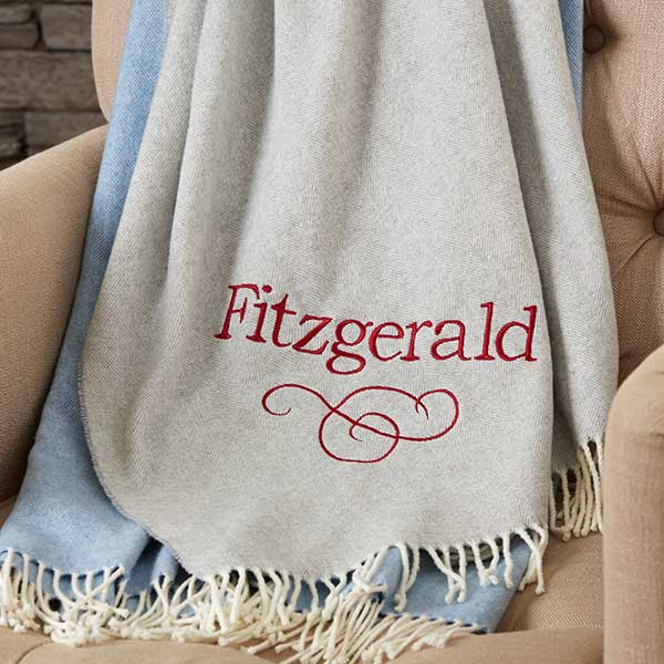 Personalized Luxury Throws - Lap of Luxury - 18580