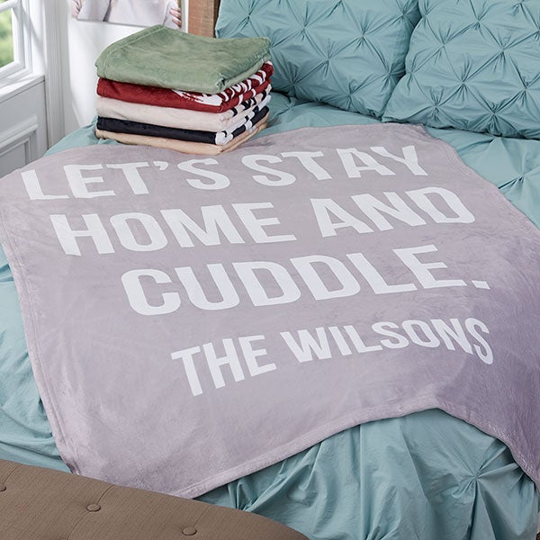 Personalized Fleece Blankets - Home Expressions - 18621
