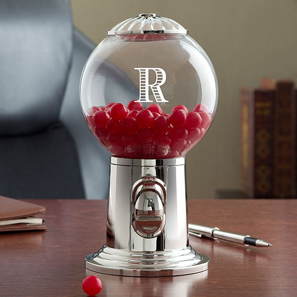 Personalized Desk Candy Dispensers - Name & Monogram - 18690