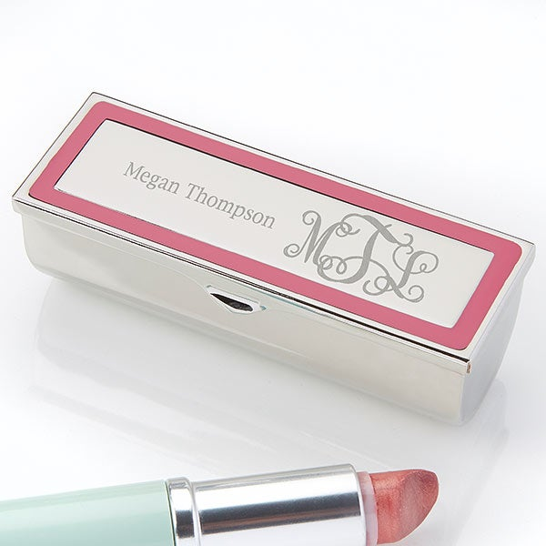 Custom Lipstick Case With Mirror - 18700