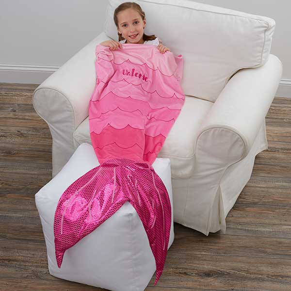 Personalized Mermaid Tail Blanket - 18712