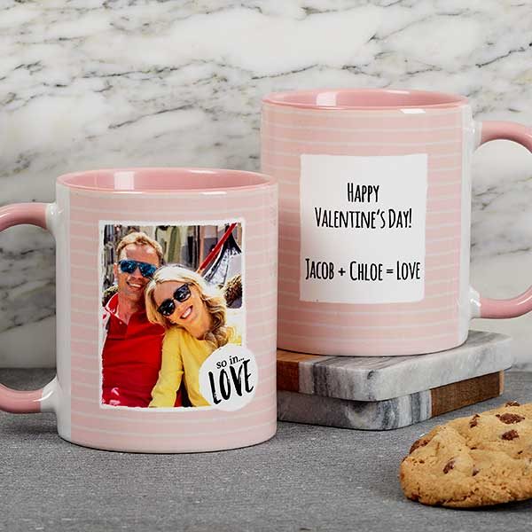 Personalized Photo Message Coffee Mugs - 18719