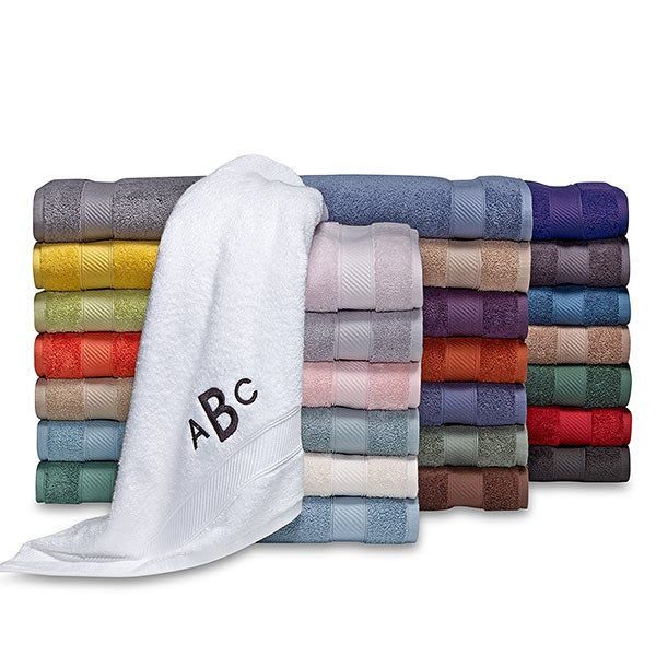 Personalized Wamsutta Hygro Duet Towels - 18723