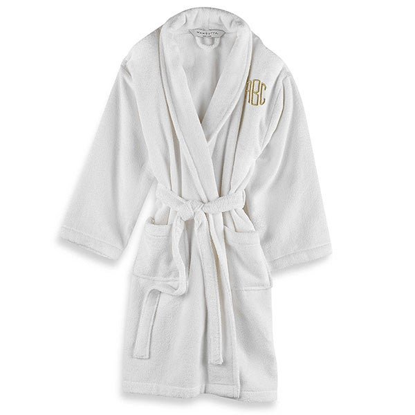 e40cdd0cfc Personalized Wamsutta Unisex Terry Bathrobe - 18724