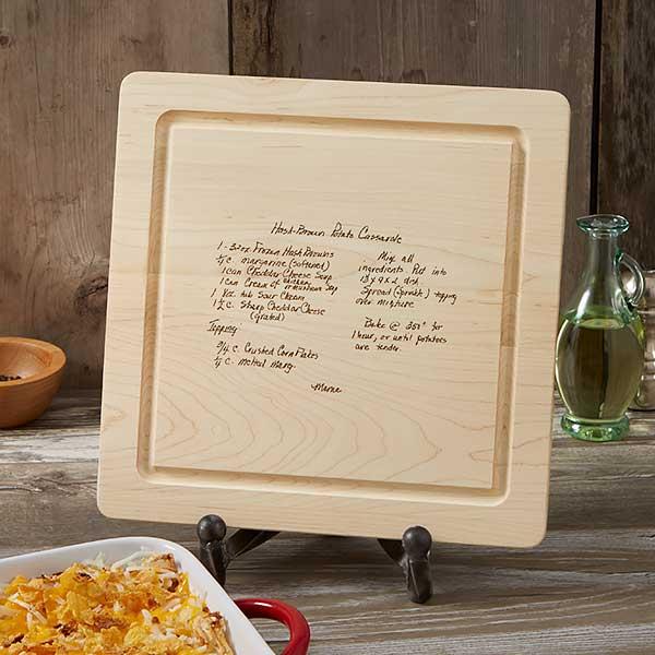 Handwritten Recipe Engraved Cutting Boards - 18729D
