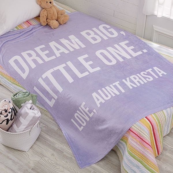 Kids Expressions Personalized Fleece Blankets - 18750
