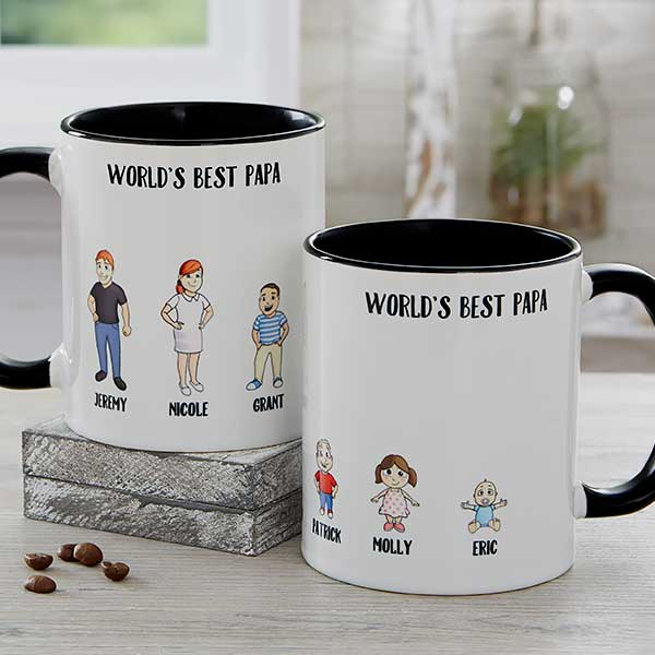 Personalized Coffee Mugs - Character Collection - 18767