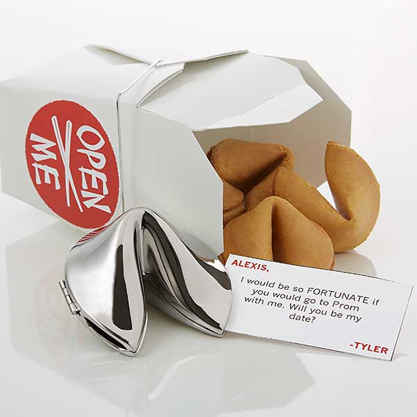 Personalized Fortune Cookie - Will You Be My Date - 18801