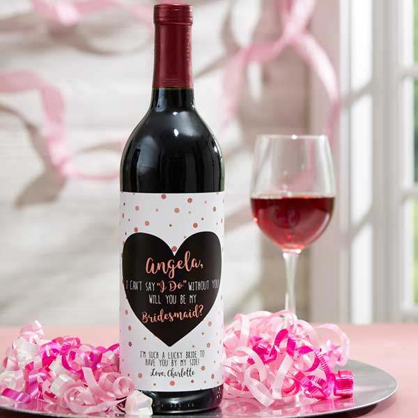 X 1  Personalised A daughter Is....Wine Bottle Decal//sticker