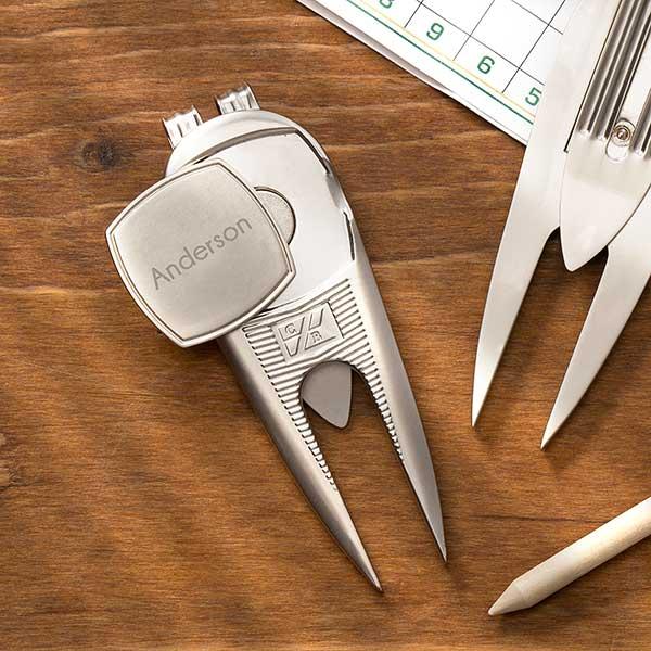 Cutter & Buck Personalized Divot Tool & Ball Marker - 18974