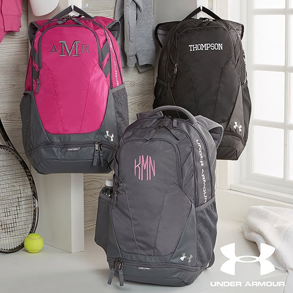 Under Armour Embroidered Backpacks - Name or Monogram - 18987 9545fc4be7b23