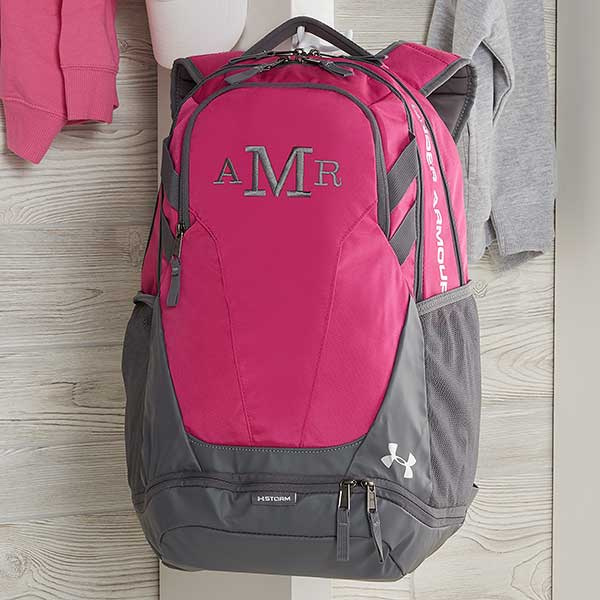 circuito Optimismo Ciudad Menda  Under Armour Embroidered Pink Backpacks - Kids Gifts