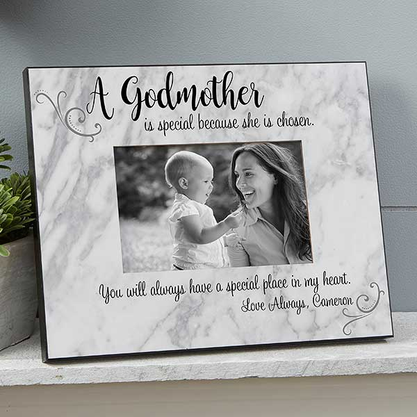 Personalized Godparent Picture Frames