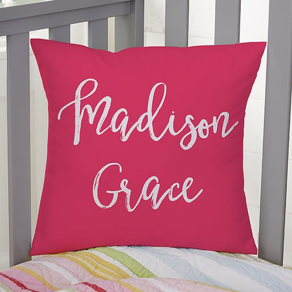 Personalized Kids Throw Pillows