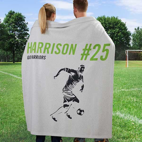 Sports Enthusiast Personalized Sweatshirt Blankets - 19221