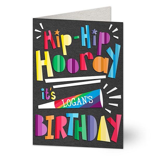 Personalized Birthday Card - Birthday Celebration - 19240
