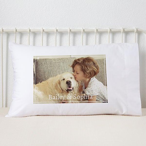 Personalized Photo Pillowcase - 19330