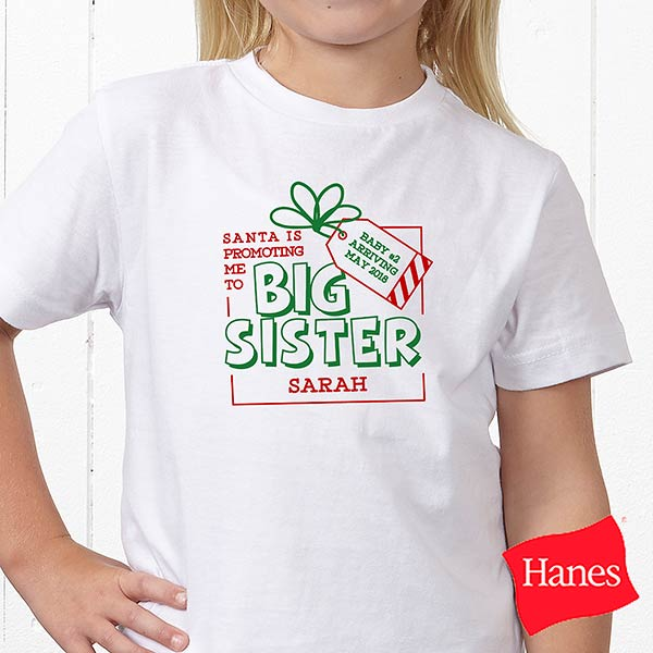 Promoted By Santa Personalized Baby Toddler Clothes - 19394