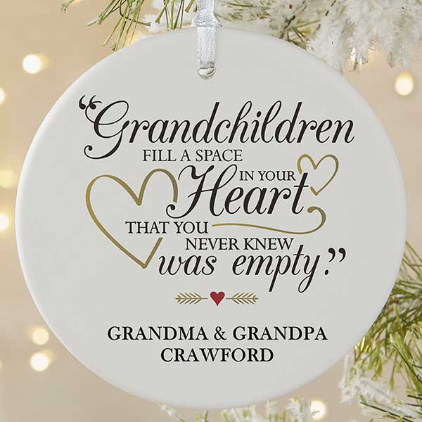 Special Christmas Ornaments.Grandparents Are Special Large 1 Sided Ornament