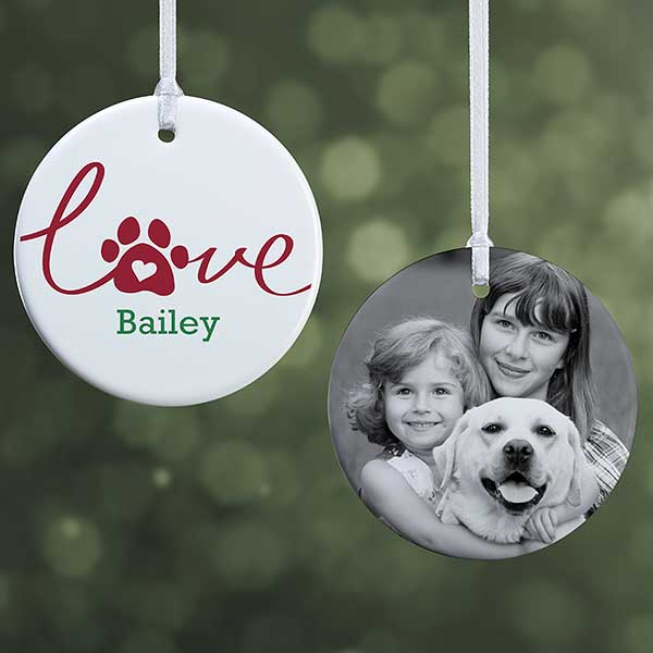New Puppy Ornament New Puppy Owner New Puppy Christmas Gift New Puppy Announcement New Puppy Christmas Ornament Puppy 1st Christmas Pic