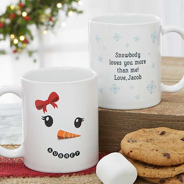 Snowman Character Personalized