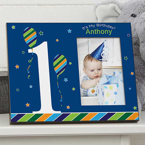 Personalized Birthday Picture Frames - Birthday Boy - 19529