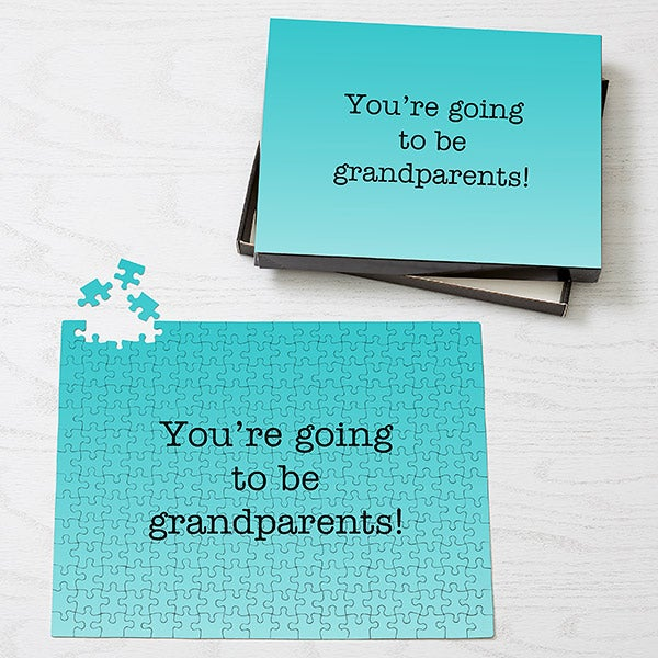 Personalized Puzzles - Add Any Text - 19572
