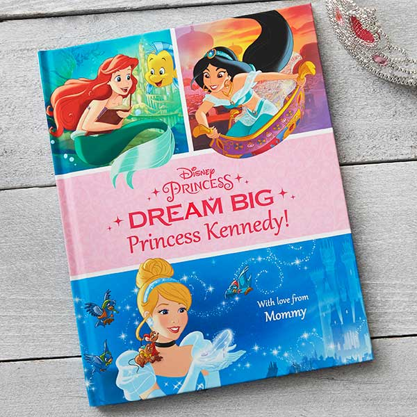 Personalized Disney Princess Kids Book - Dream Big - 19630D