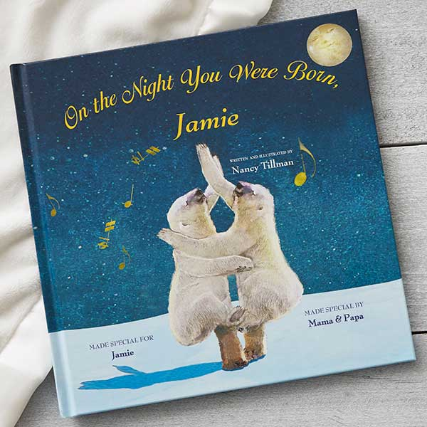 Personalized Children's Storybook - The Night Your Were Born - 19636D