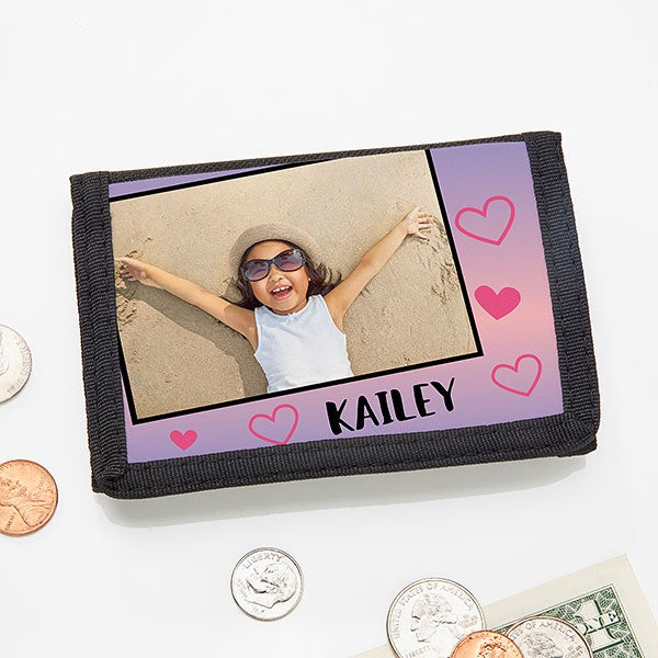 Kids' Personalized Photo Wallet - 19680