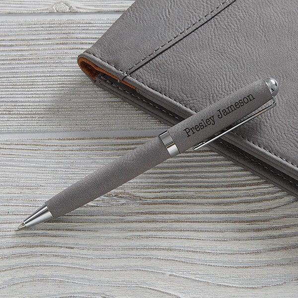 Personalized Leatherette Pens - Signature Series - 19688