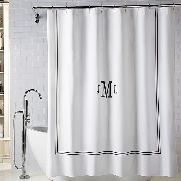 Wamsutta Baratta Personalized Shower Curtains