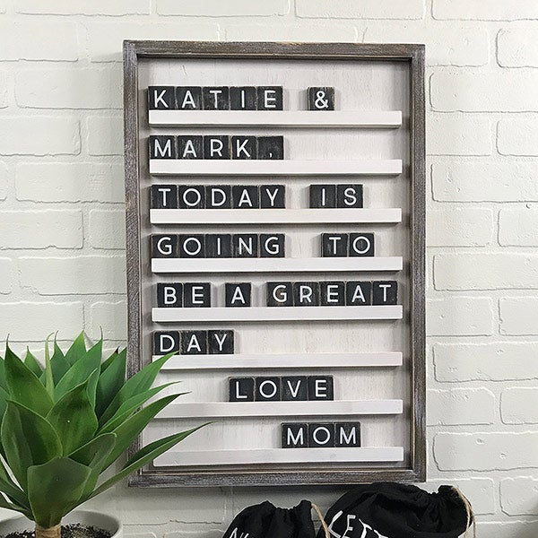 Changeable Letter Board & Tiles - Daily Inspiration - 19726