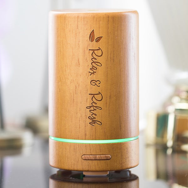 Personalized Essential Oil Diffuser- Bamboo - 19797