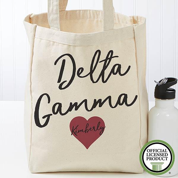 Personalized Delta Gamma Tote Bag - Small - 19844
