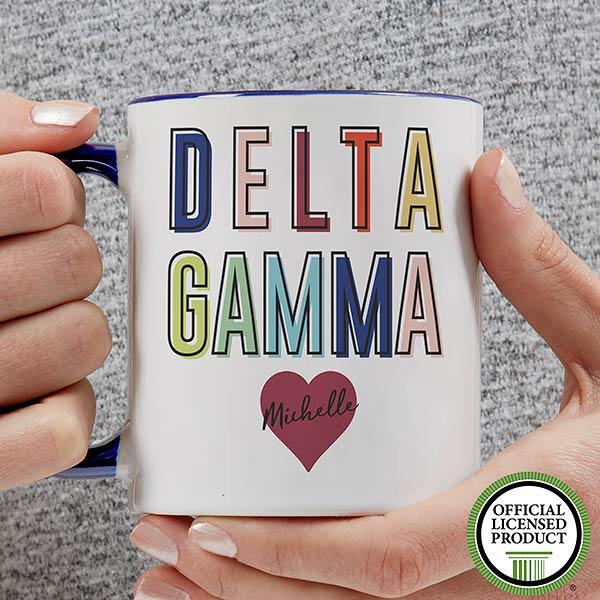 Personalized Sorority Mugs - Delta Gamma - 19846