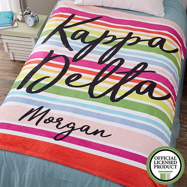 Personalized Sorority Blankets - Kappa Delta - 19862