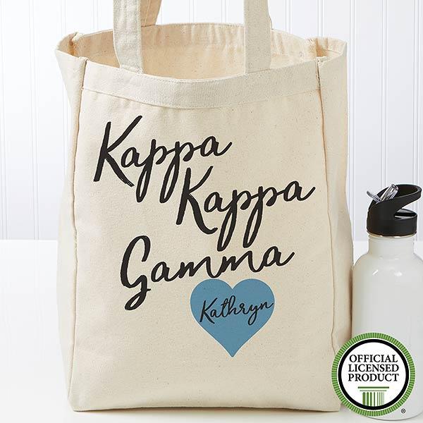 Personalized Kappa Kappa Gamma Tote Bag - Small - 19864