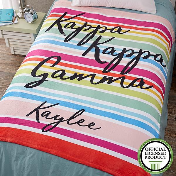 Personalized Sorority Blankets - Kappa Kappa Gamma - 19866