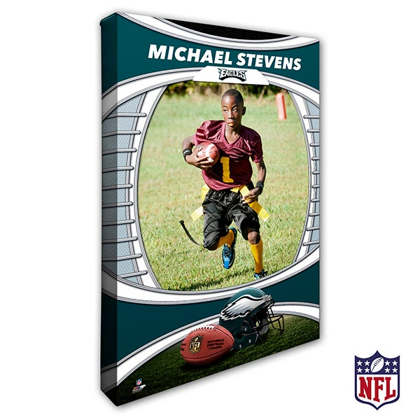 Personalized NFL Canvas Prints - Philadelphia Eagles - 19920