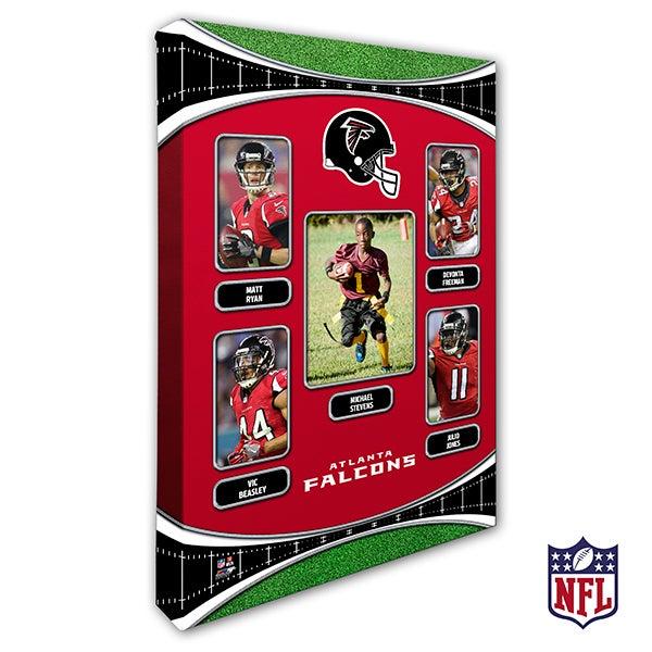 Personalized NFL Wall Art - Atlanta Falcons Art - 19928