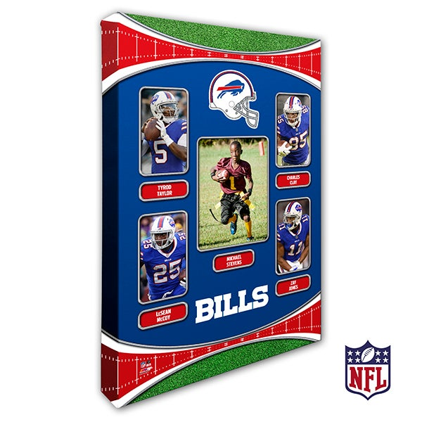 Personalized NFL Wall Art - Buffalo Bills Art - 19930