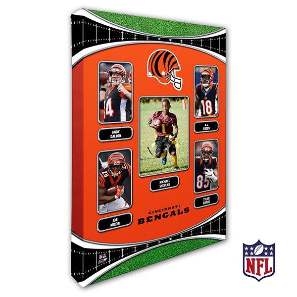 Personalized NFL Wall Art - Cincinnati Bengals Art - 19933