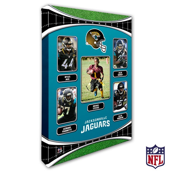 Personalized NFL Wall Art - Jacksonville Jaguars Art - 19941