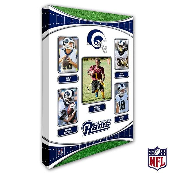 Personalized NFL Wall Art - Los Angeles Rams Art - 19944