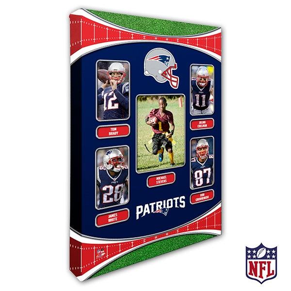 Personalized NFL Wall Art - New England Patriots Art - 19947