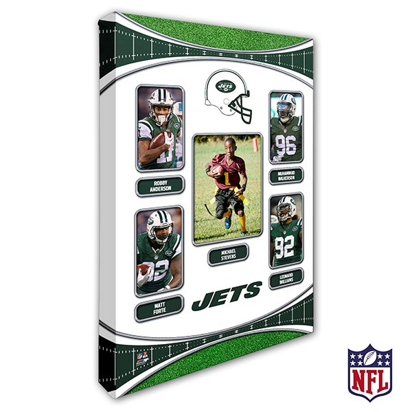 Personalized NFL Wall Art - New York Jets Art - 19949