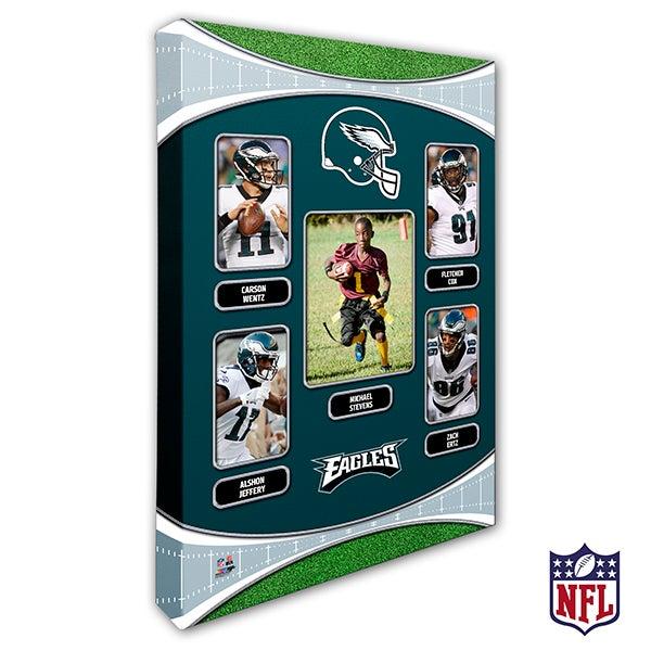 Personalized NFL Wall Art - Philadelphia Eagles Art - 19951