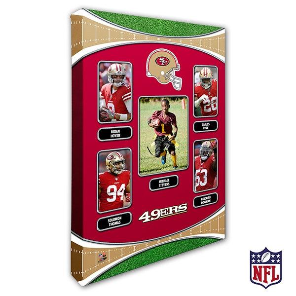 Personalized NFL Wall Art - San Francisco 49ers Art - 19953
